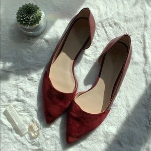 Cole Haan Suede Flats size 9.5